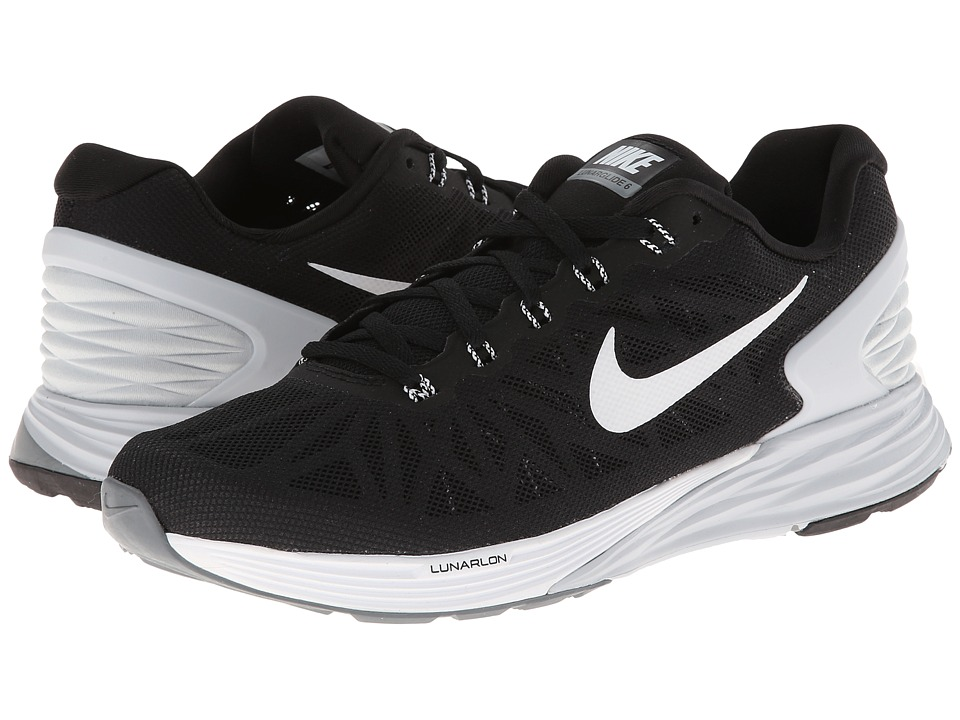 Nike - Lunarglide 6 (Black/Pure Platinum/Cool Grey/White) Women