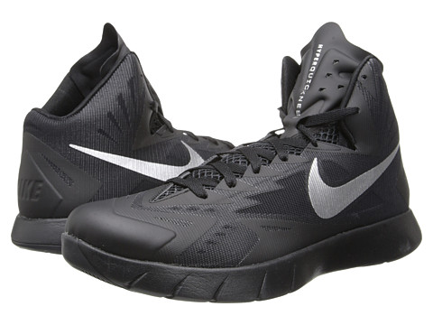 Nike Lunar Hyperquickness (Black/Metallic Silver) Men's Basketball Shoes