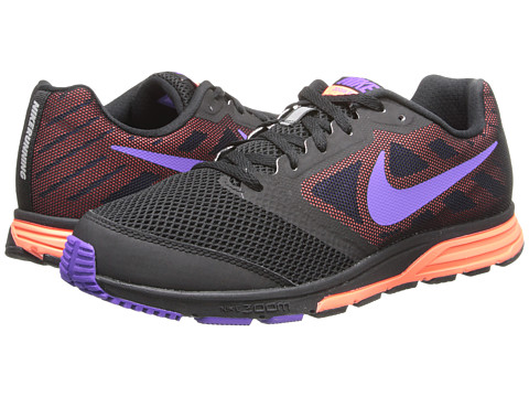 Nike - Zoom Fly (Black/Bright Mango/Hyper Grape) Women