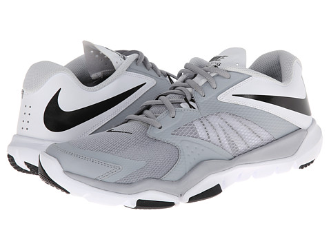 Nike - Flex Supreme TR 3 (Wolf Grey/White/Pure Platinum/Black) Men's Shoes