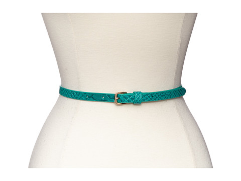 Lodis Accessories - Healdsburg 2 for 1 Pant Belt (Emerald) Women