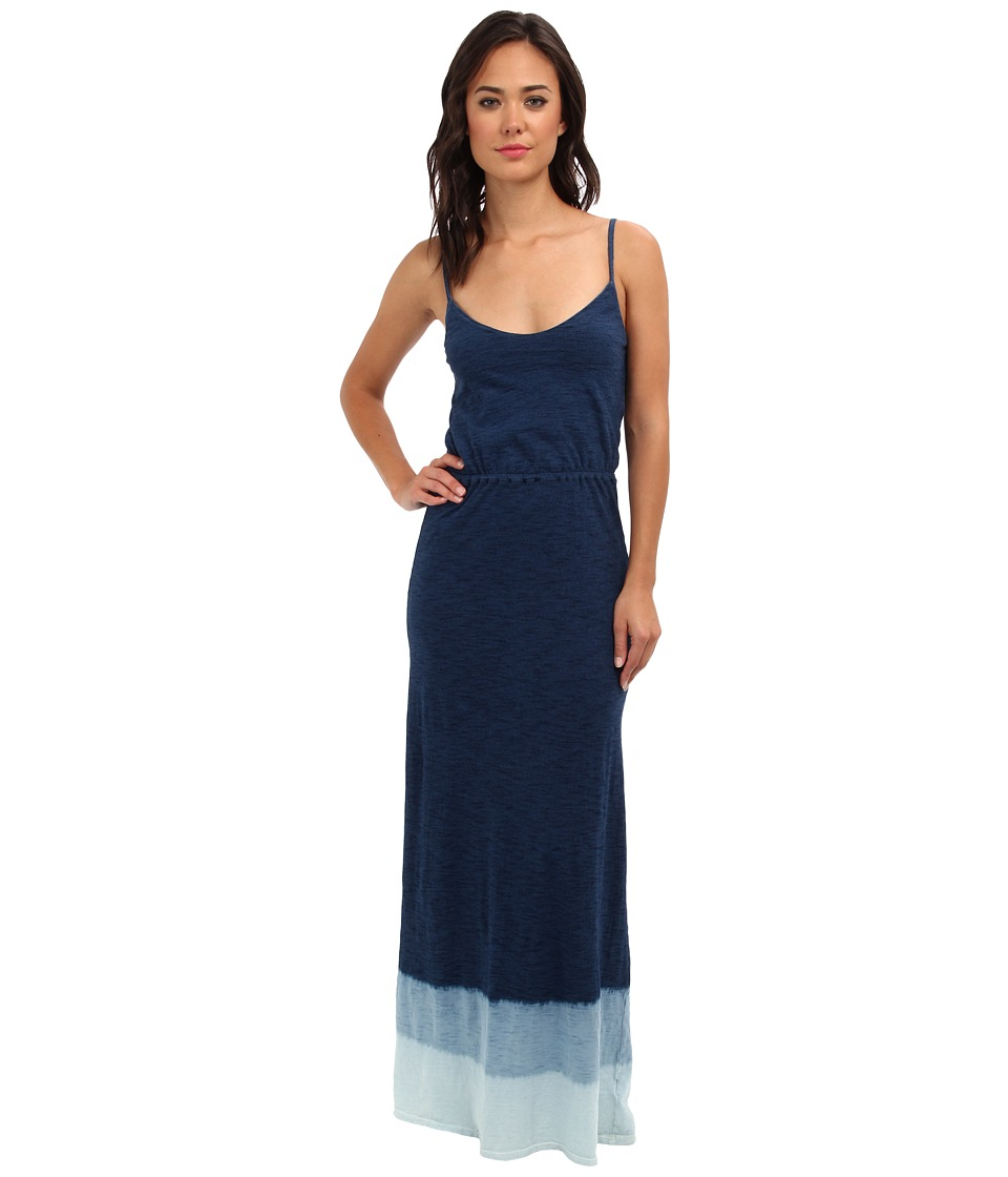 Splendid - Indigo Dye Maxi Dip Dye Dress (Dark Treatment) Women