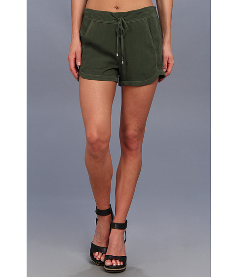 Splendid - Woven Dolphin Short (Military) Women's Shorts