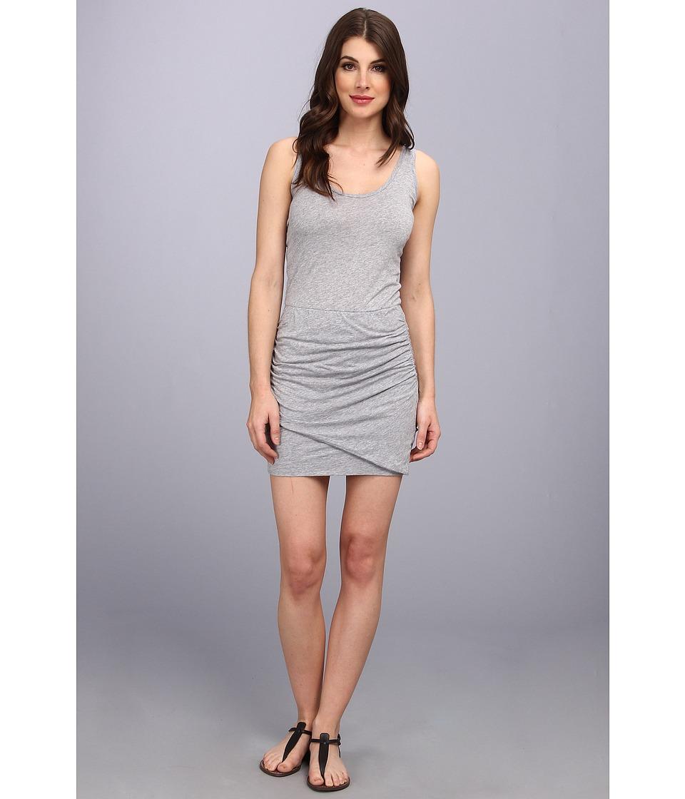 Splendid - Rouched Mini Dress (Heather Grey) Women's Dress