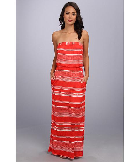 Splendid - Safari Maxi Dress (Paprika) Women