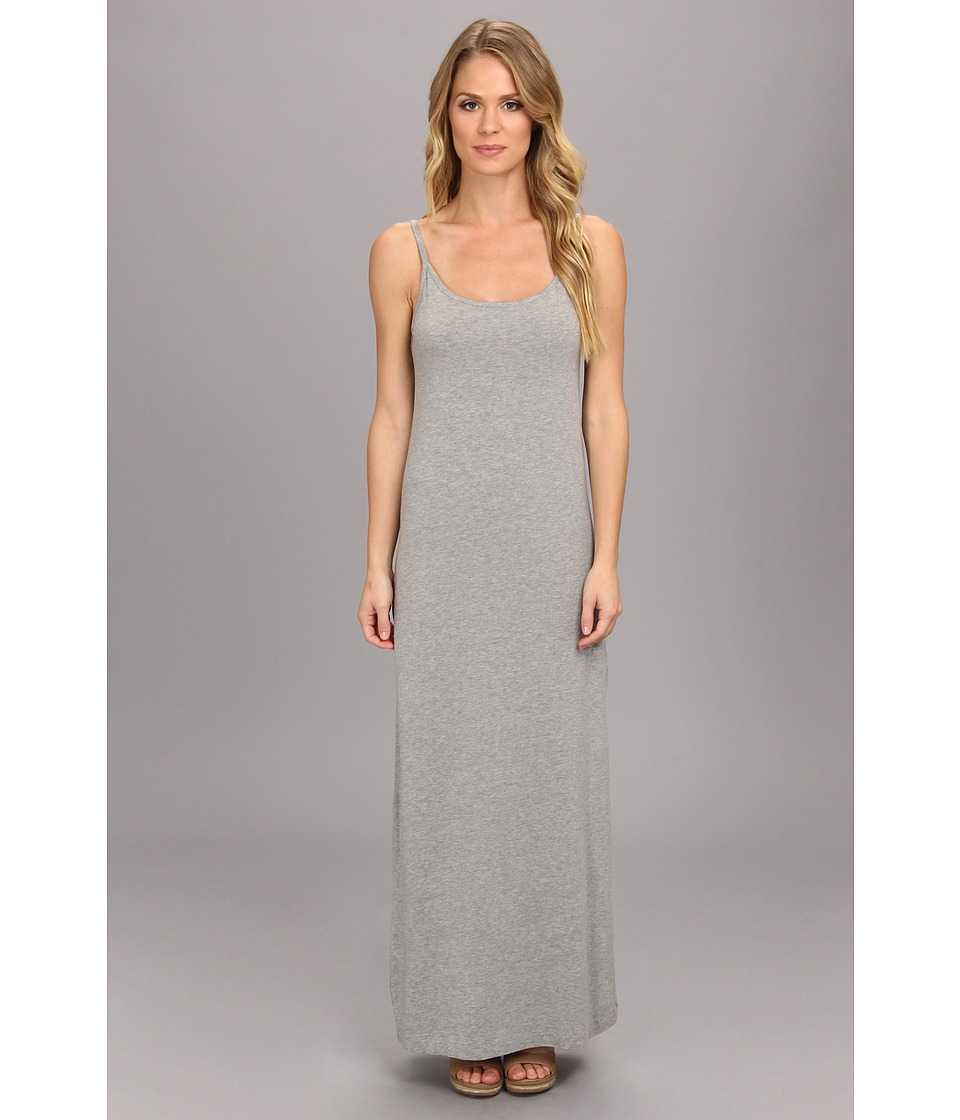 Splendid - Cami Maxi Dress - Solid (Heather Grey) Women's Dress