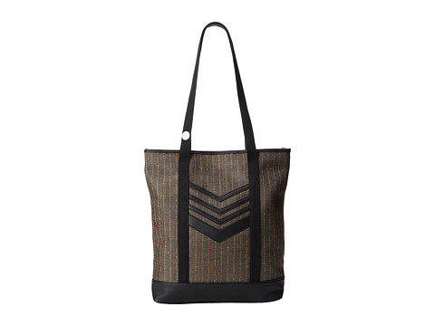 Volcom - Thrifty Fun Tote (Black) Tote Handbags
