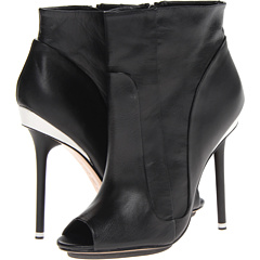 L.A.M.B. Ilyssa (Black Leather) Footwear