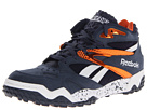 Reebok - Scrimmage Mid (Athletic Navy/Paprika/White)