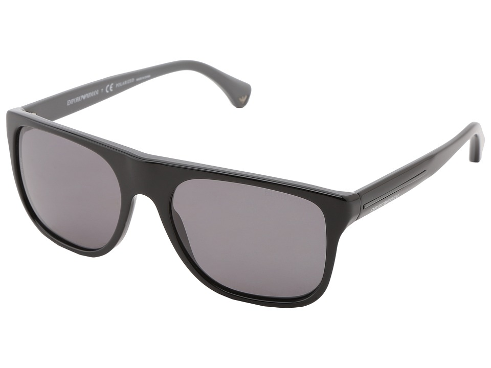 Emporio Armani - 0EA4014 (Black Polarized) Fashion Sunglasses