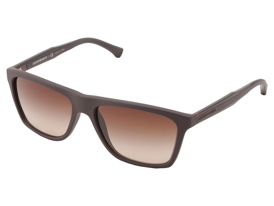 Emporio Armani - 0EA4001 (Brown) Fashion Sunglasses