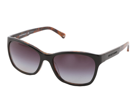 Emporio Armani - 0EA4004 (Black Havana) Fashion Sunglasses