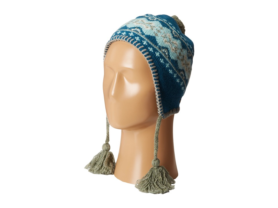 Patagonia Kids - Kids' Wooly Hat (Infant/Toddler) (TradTown/Tobago Blue) Knit Hats