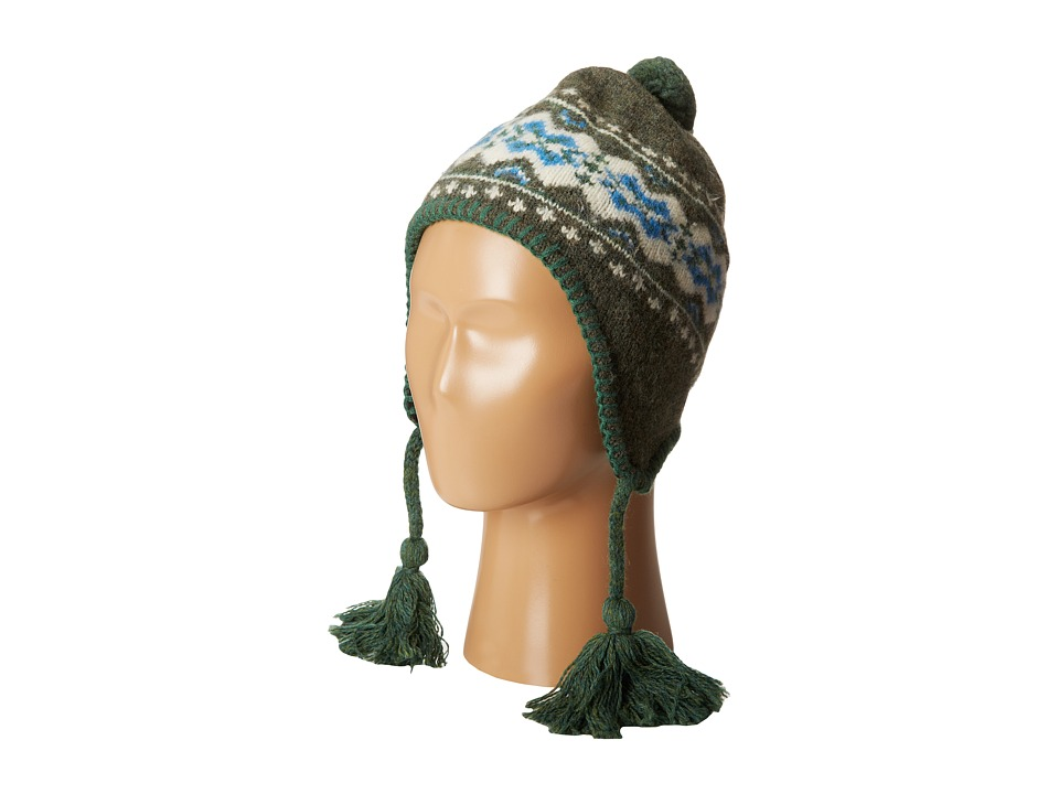 Patagonia Kids - Kids' Wooly Hat (Little Kids/Big Kids) (TradTown/Smoked Green) Knit Hats