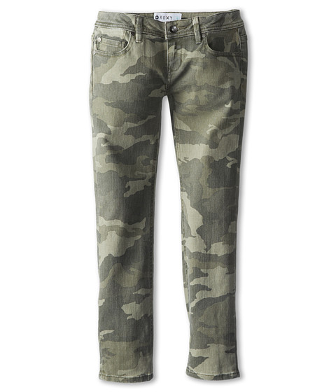 Roxy Kids - Katherine Camo Pant (Big Kids) (Camo) Girl