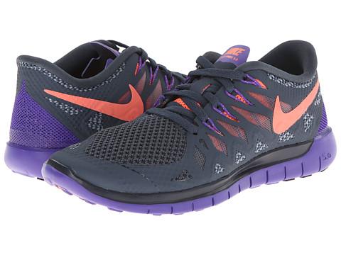 nike free grey purple