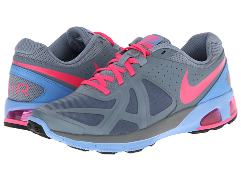 Nike - Air Max Run Lite 5 (Magnet Grey/University Blue/Wolf Grey/Hyper Pink) Women's Running Shoes