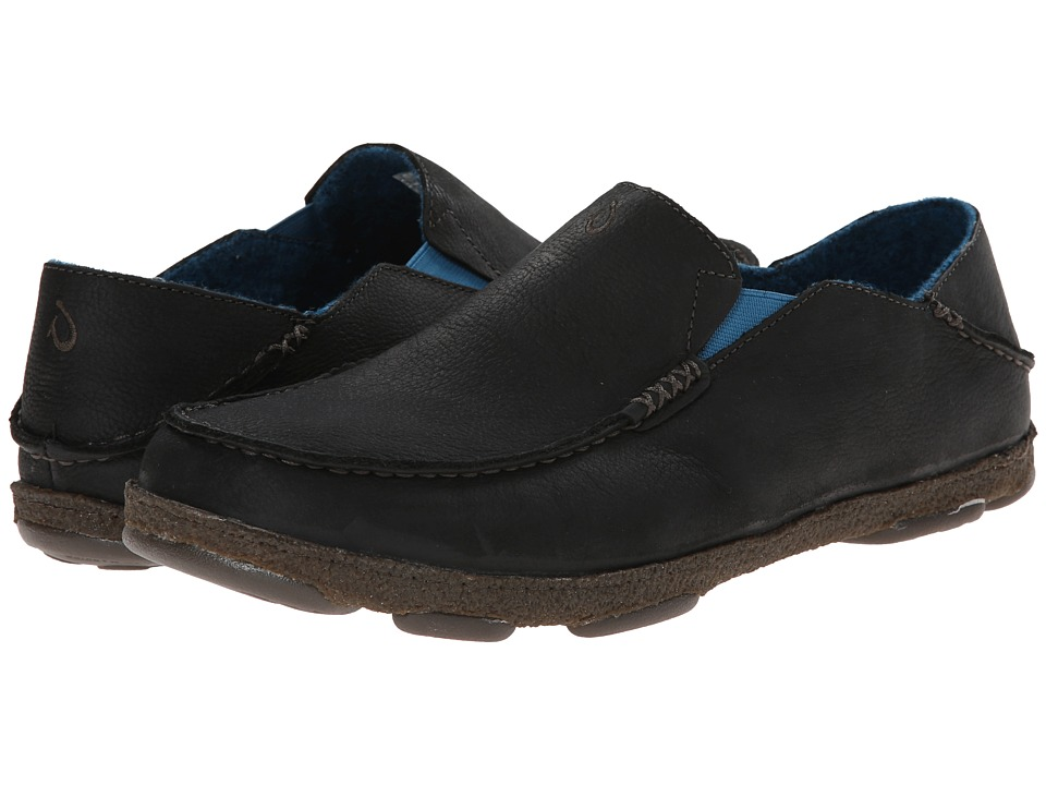 OluKai - Moloa Kohana Fall (Black/Black) Men's Shoes