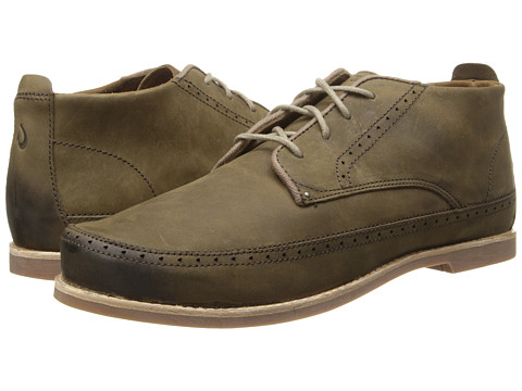 OluKai - Honolulu Boot (Seal Brown/Seal Brown) Men's Shoes