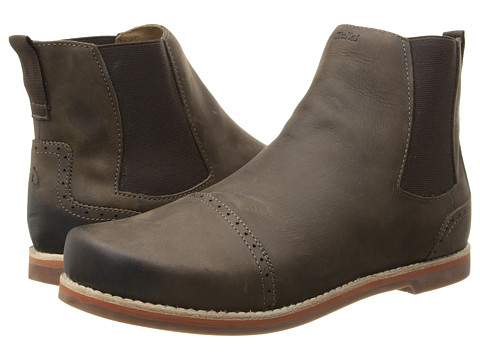 OluKai - Honolulu City Boot (Dark Wood/Dark Wood) Men