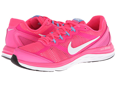 Nike - Dual Fusion Run 3 (Hyper Pink/University Blue/White) Women