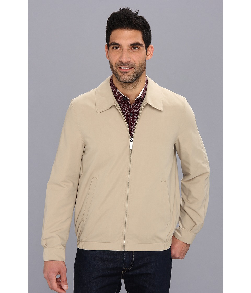 Perry Ellis - Microfiber Golf Jacket (Chinchilla) Men
