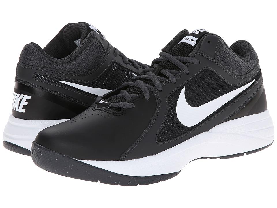 Nike - Overplay VIII (Black/Anthracite/Dark Grey/White) Women