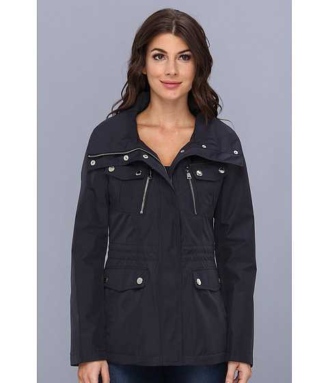 Nautica - Short Anorak w/ Reflective Piping (Mystic Blue) Women