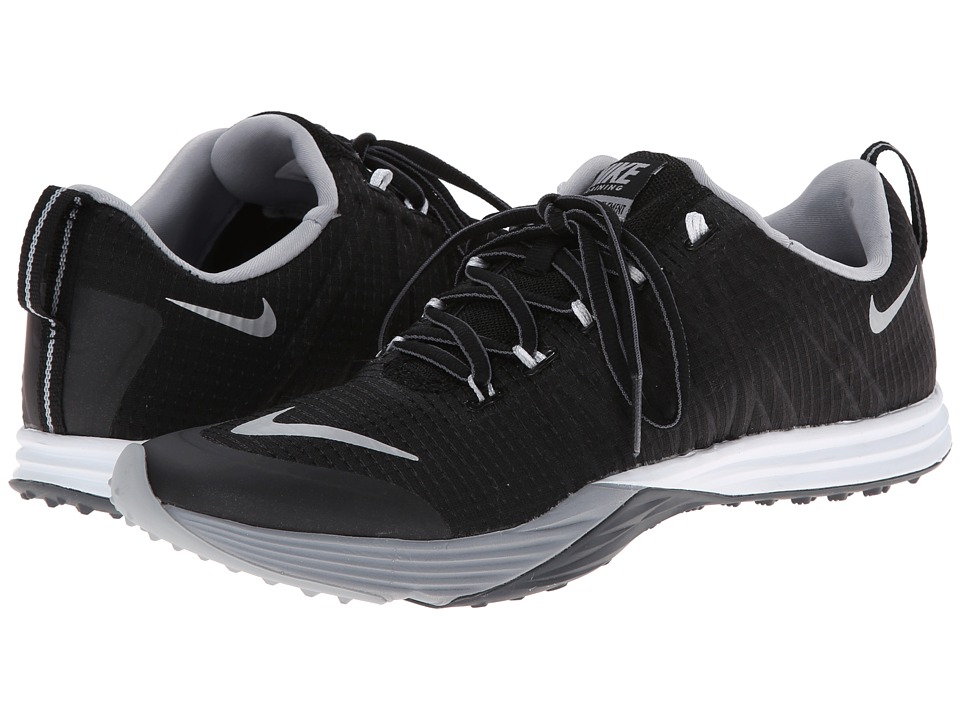 Nike - Lunar Cross Element (Black/Wolf Grey/Dark Grey/Metallic Silver) Women