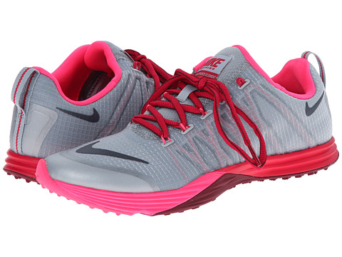 Nike - Lunar Cross Element (Light Magnet Grey/Hyper Pink/Fuchsia Force/Dark Magnet Grey) Women's Cross Training Shoes