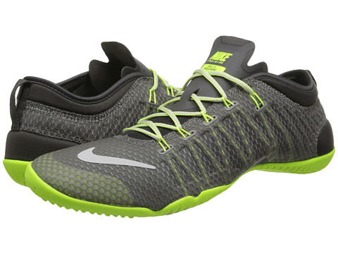 Nike - Free 1.0 Cross Bionic (Medium Ash/Volt/Light Ash/Light Ash Grey) Women