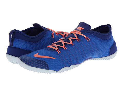 Nike - Free 1.0 Cross Bionic (Hyper Cobalt/Deep Royal Blue/Antarctica/Bright Mango) Women's Cross Training Shoes