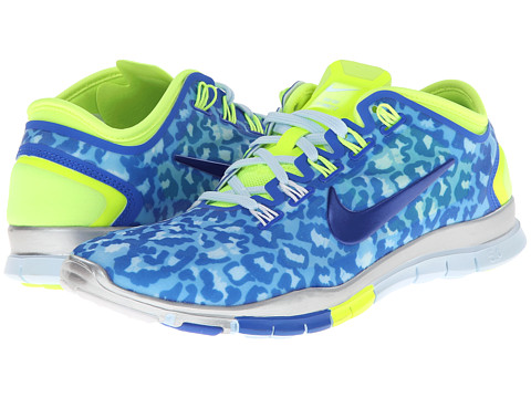 Nike - Free TR Connect 2 (Hyper Cobalt/Antarctica/Metallic Silver/Volt) Women's Cross Training Shoes