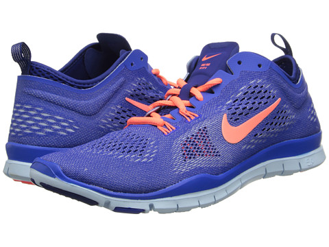 Nike - Free 5.0 TR Fit 4 (Hyper Cobalt/Deep Royal Blue/Antarctica/Bright Mango) Women's Running Shoes