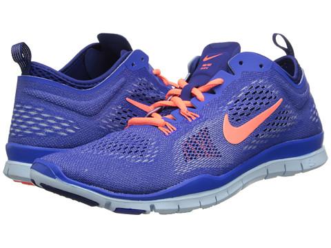 Nike - Free 5.0 TR Fit 4 (Hyper Cobalt/Deep Royal Blue/Antarctica/Bright Mango) Women
