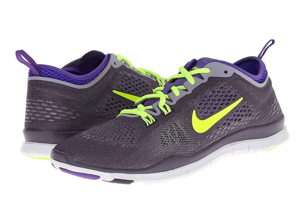 Nike - Free 5.0 TR Fit 4 (Dark Raisin/Hyper Grape/Purple Steel/Volt) Women's Running Shoes