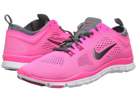 Nike - Free 5.0 TR Fit 4 (Hyper Pink/Cool Grey/Wolf Grey/Dark Grey) Women's Running Shoes