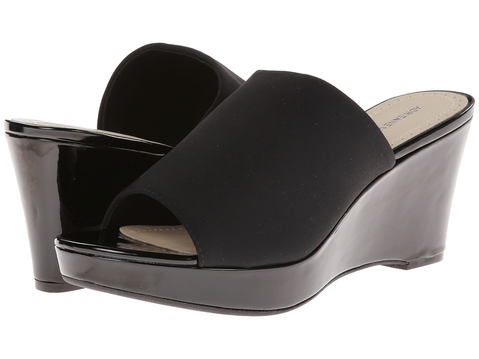 Adrienne Vittadini - Caterena (Black Patent Stretch) Women