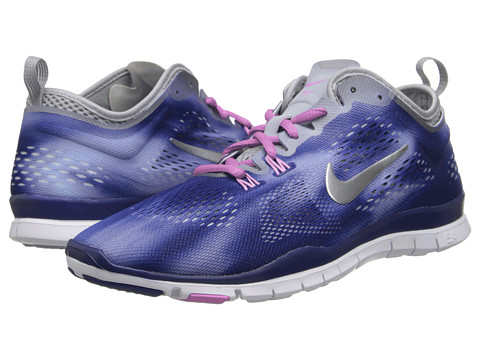 Nike - Free 5.0 TR Fit Wash (Deep Royal/Metallic Silver) Women