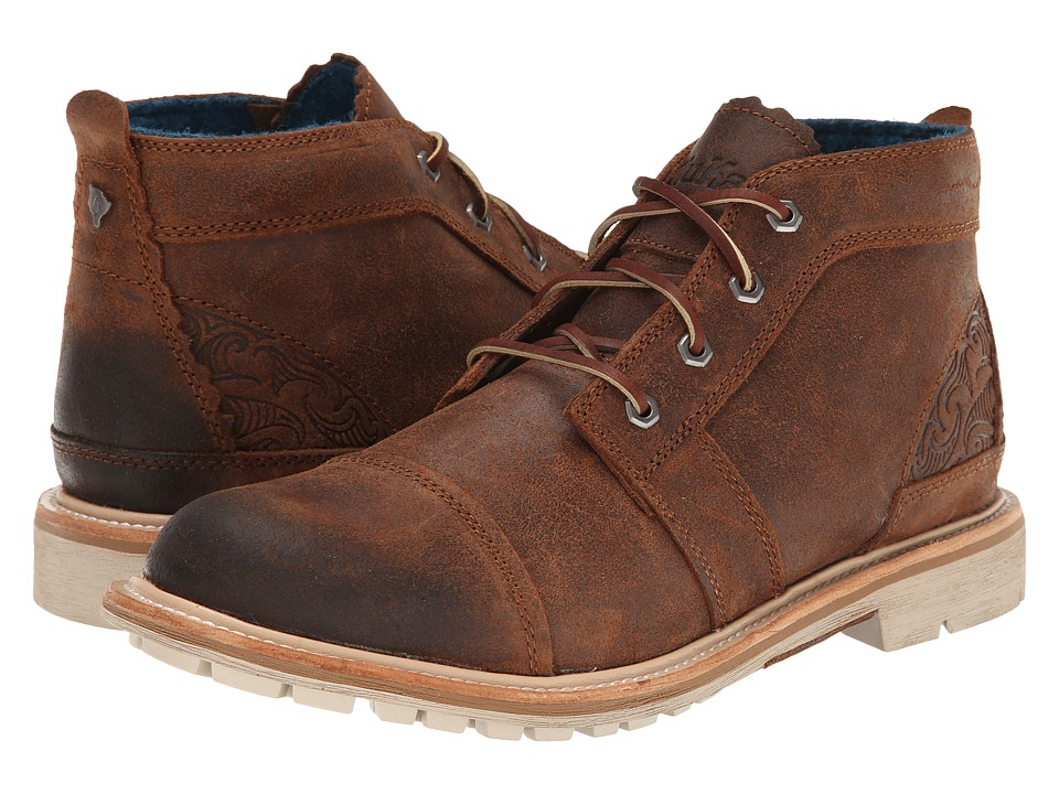 OluKai - Mauna Iki (Henna/Henna) Men's Lace-up Boots