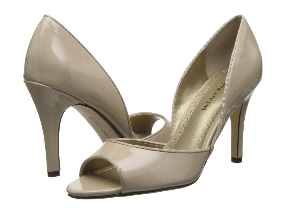 Adrienne Vittadini - Giggi (Bone Patent Grosgrain) High Heels