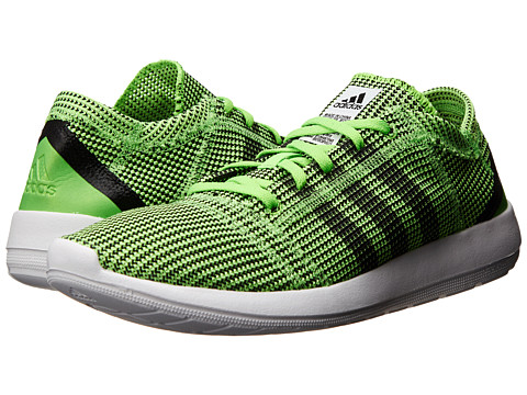 neon green adidas shoes
