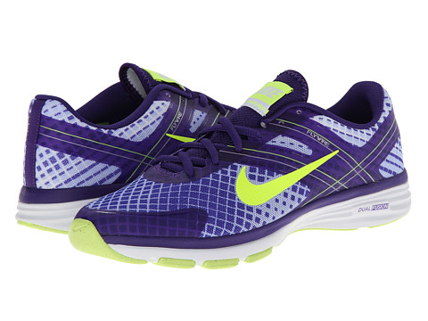 Nike - Dual Fusion TR 2 Print (Hyper Grape/Dark Concord/Hydrangeas/Volt) Women