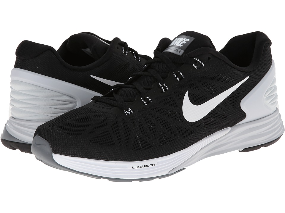 980263312ec6 ... UPC 091202750954 product image for Nike - LunarGlide 6 (Black Pure  Platinum Cool