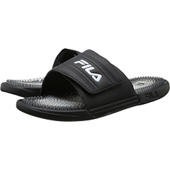 SALE! $14.99 - Save $14 on Fila Massagio Gradient (Black Black White) Footwear - 48.31% OFF $29.00