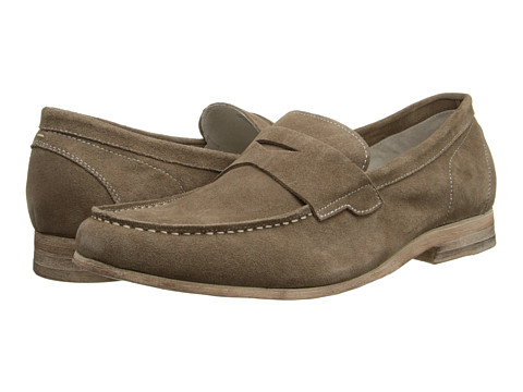 Kenneth Cole New York - Shelf Made (Taupe) Men's Slip on Shoes