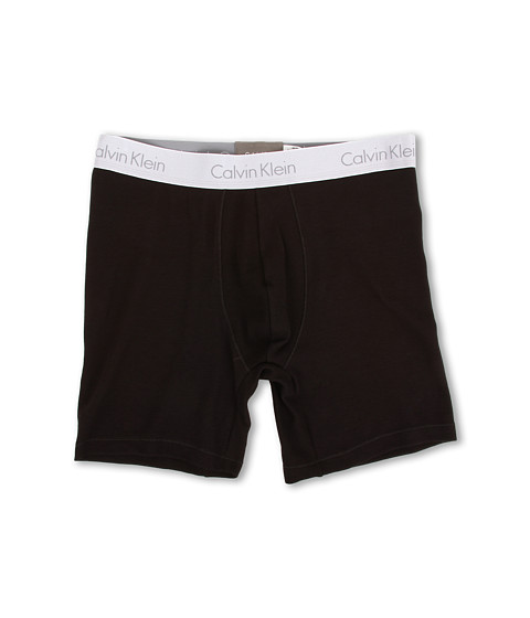 Calvin Klein Underwear - Superior Cotton Boxer Brief (Black) Men
