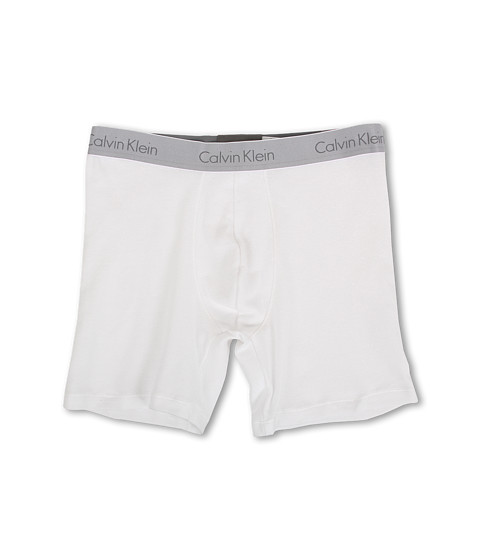 Calvin Klein Underwear - Superior Cotton Boxer Brief (White) Men's Underwear
