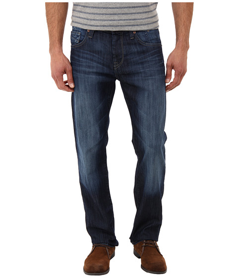 Mavi Jeans - Zach Regular Rise Straight Leg in Mid Blue (Mid Blue) Men's Jeans