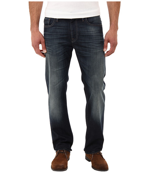 Mavi Jeans - Zach Regular Rise Straight Leg in Deep Foggy Yaletown (Deep Foggy Yaletown) Men